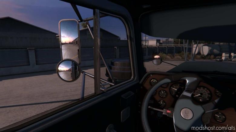 3D Interior Mod V1.3.3 for American Truck Simulator