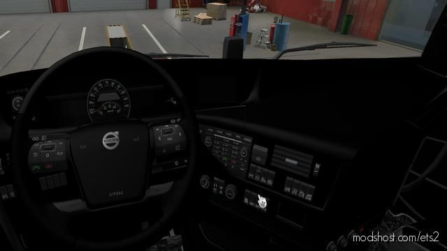 Volvo FH 2012 Interior Black for Euro Truck Simulator 2