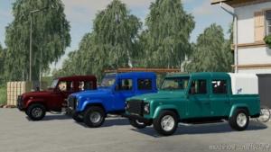 Land Rover Defender 110 Pickup V2.0 for Farming Simulator 19