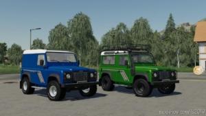 Land Rover Defender 90 V2.0 for Farming Simulator 19
