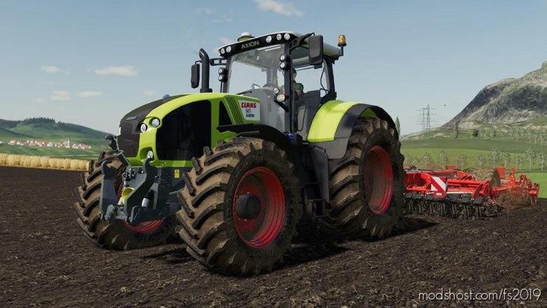 Claas Axion 900 V1.5 for Farming Simulator 19