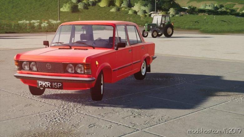 Fiat 125P for Farming Simulator 19