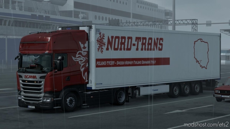 Krone Collmegaliner Nord Trans VS for Euro Truck Simulator 2