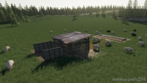 Open PIG Pasture for Farming Simulator 19