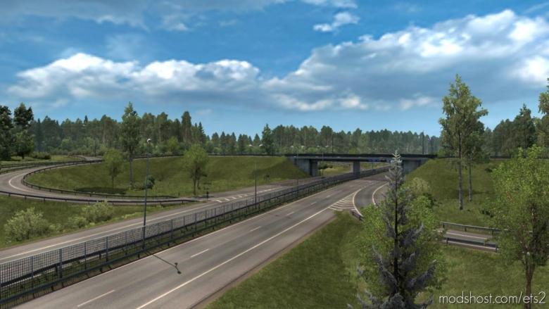 Riga Metro Area Rebuild V1.2 for Euro Truck Simulator 2