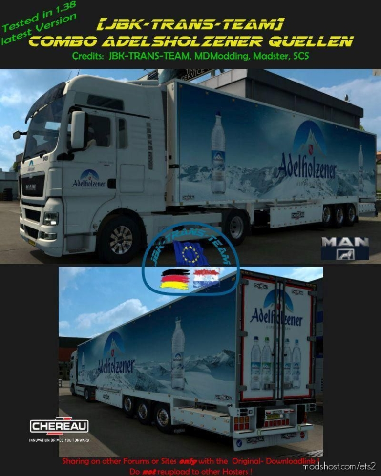 JBK Combo Adelzhofener Mineralquellen [1.38] for Euro Truck Simulator 2