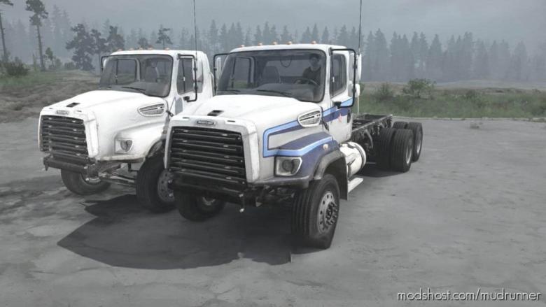 Freightliner 114SD Truck V25.08.20 for MudRunner