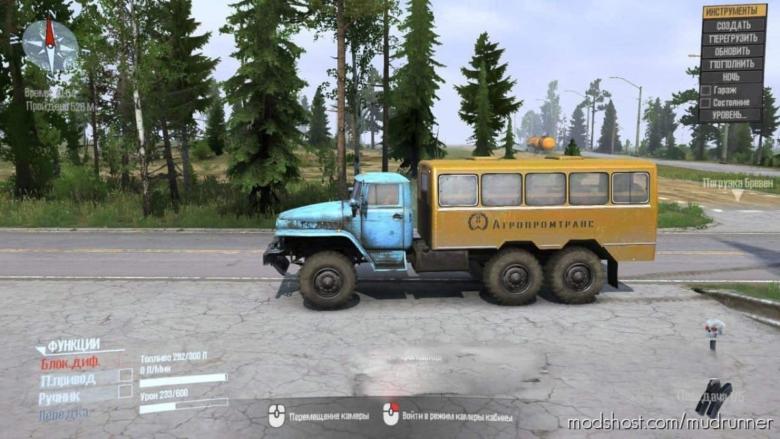 Ural-375 Truck for MudRunner