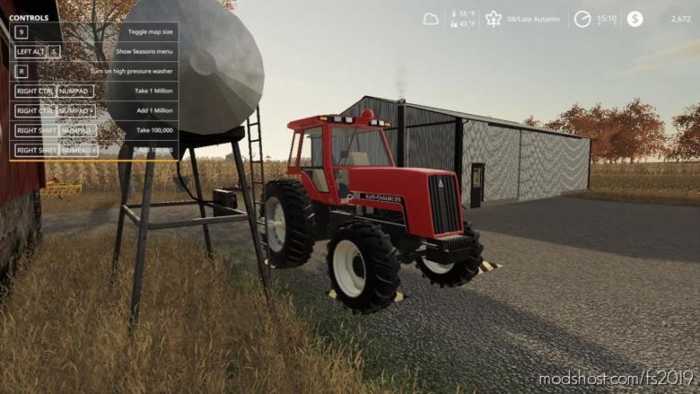 Allis Chalmers / Deutz Allis 8000 4WD & 2WD for Farming Simulator 19