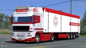 DAF XF 105 S.G. DE Vries Skin Pack [1.38.X] for Euro Truck Simulator 2