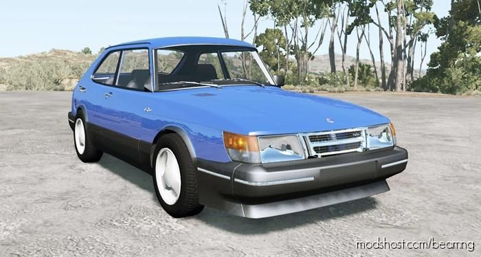 Saab 900 Turbo 3-Door 1987 for BeamNG.drive