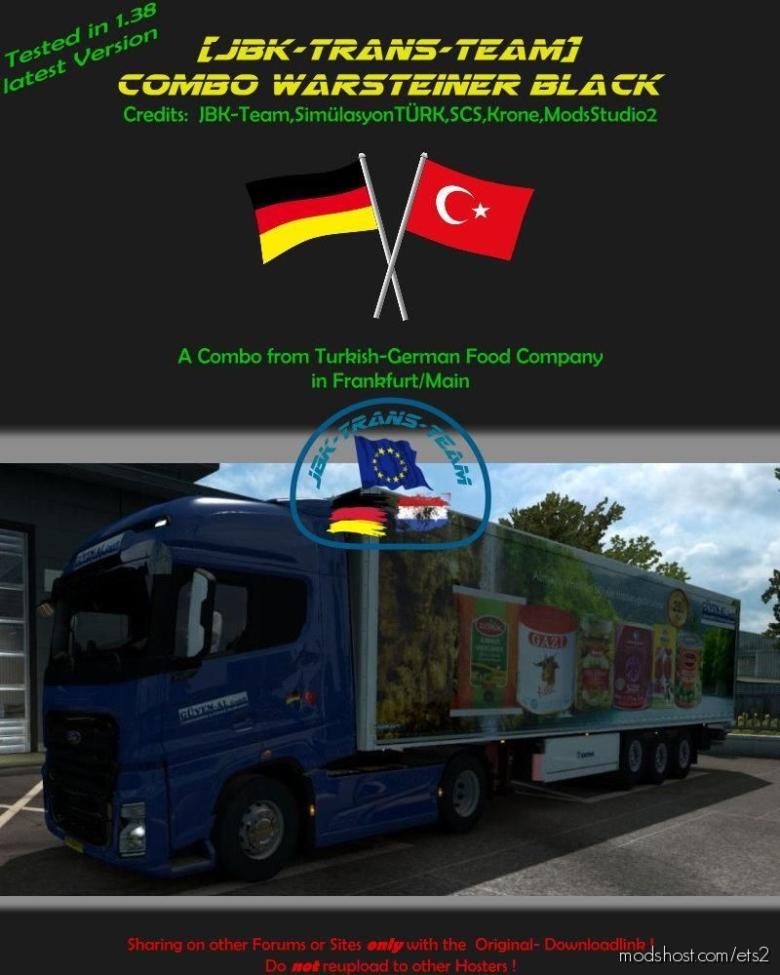 JBK Combo Guven Food [1.38] for Euro Truck Simulator 2