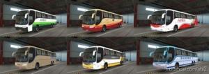Comil Campione 3.65 O-400Rsd V1.2 for Euro Truck Simulator 2