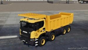 Scania XT 8X8 Mining Truck for Farming Simulator 19