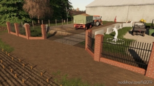 Brick And Metal Fences Pack for Farming Simulator 19