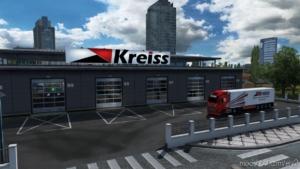 BIG Garage Kreiss for Euro Truck Simulator 2