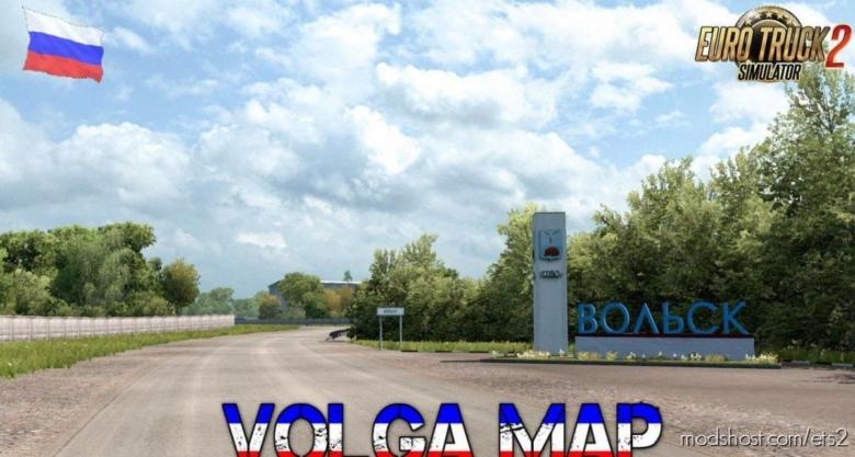 Volga Map V1.2 [1.38.X] for Euro Truck Simulator 2