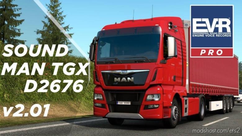 MAN TGX 460 Euro 6 Sound [1.38] for Euro Truck Simulator 2