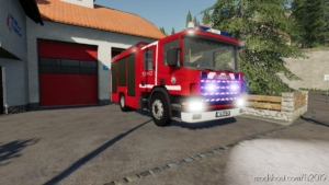 Scania GBA Polskie Malowanie V1.1 for Farming Simulator 19