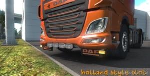 DAF XF 106 Slot V1.2 [1.38.X] for Euro Truck Simulator 2