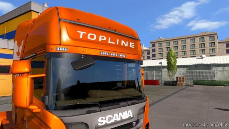 Scania Topline & Highline Stickers for Euro Truck Simulator 2