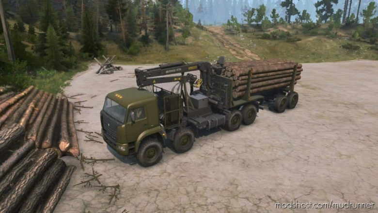 Additional Addons For Kamaz 6560 V07.08.19 for MudRunner