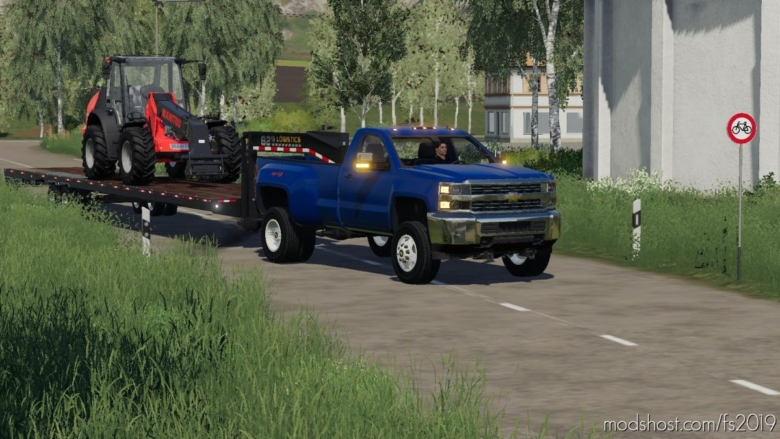 2017 Chevy 2500 HD Regular CAB Fixed V2 for Farming Simulator 19