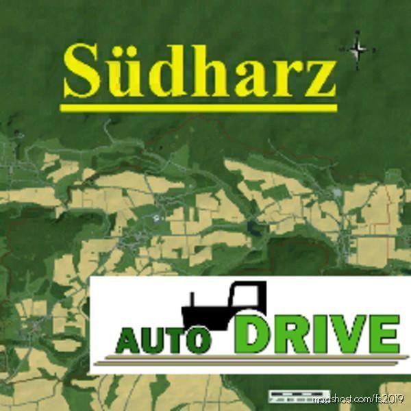 Autodrive Courses South Harz Map for Farming Simulator 19