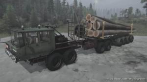 Kraz 6434 Truck V26.08.20 for MudRunner