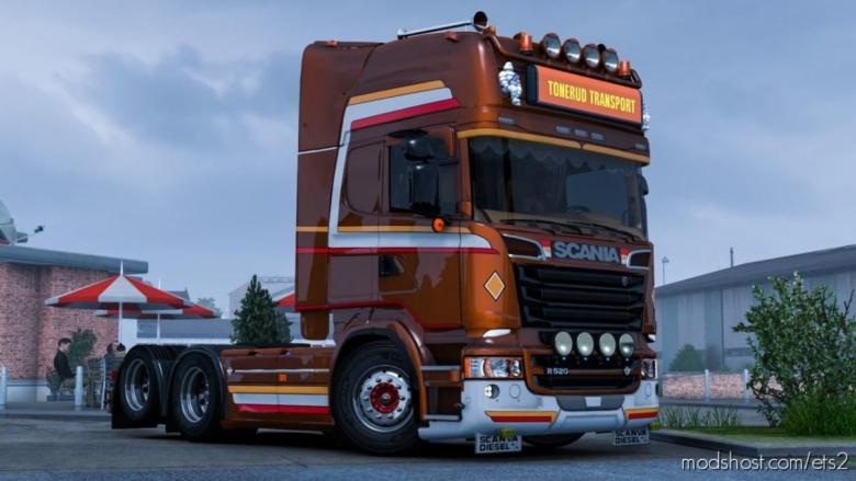 Tonerud Skin For Scania R for Euro Truck Simulator 2