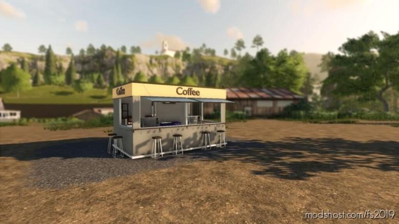 Coffee Shop for Farming Simulator 19