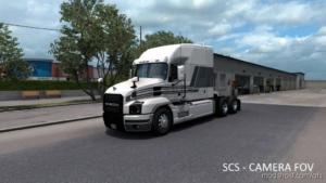 Realistic Exterior Camera Angle V1.1 for American Truck Simulator