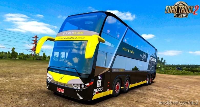 Volvo Modasa Zeus 3 8×2 [1.38.X] for Euro Truck Simulator 2