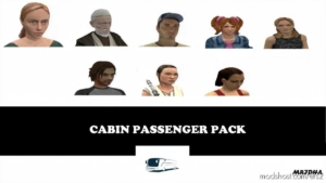 Cabin Passenger Pack [1.38] for Euro Truck Simulator 2