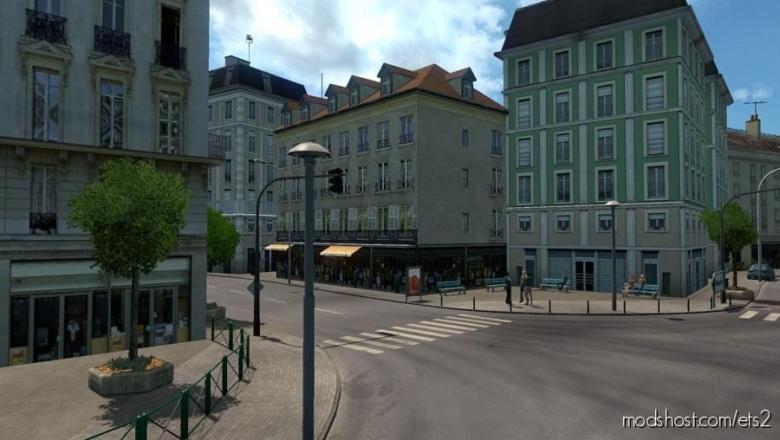 Paris Rebuild V2.6 for Euro Truck Simulator 2