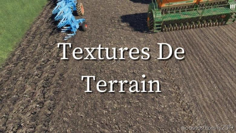 Terrain Textures for Farming Simulator 19