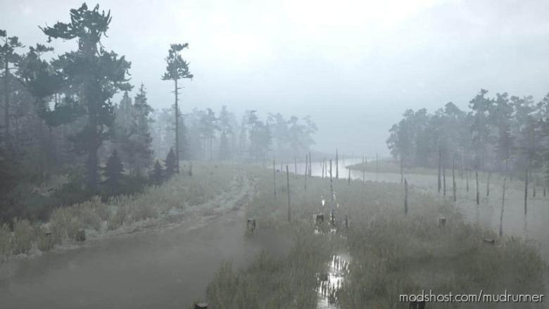 Ural 9: Abandoned Sawmills Map for MudRunner
