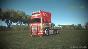 Ronny Ceusters Scania R RJL Skin [1.38] for Euro Truck Simulator 2