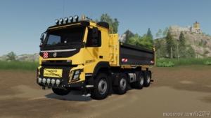Volvo FMX 8X4 FS Miner'S Construction Edition for Farming Simulator 19