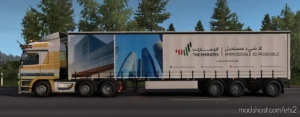 The Emirates Trailer Pack V1.5 [1.38.X] for Euro Truck Simulator 2