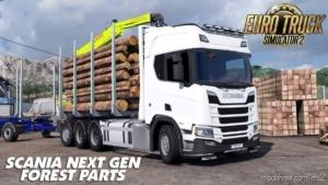 Scania R RJL Rigid Forest Parts V1.2 for Euro Truck Simulator 2
