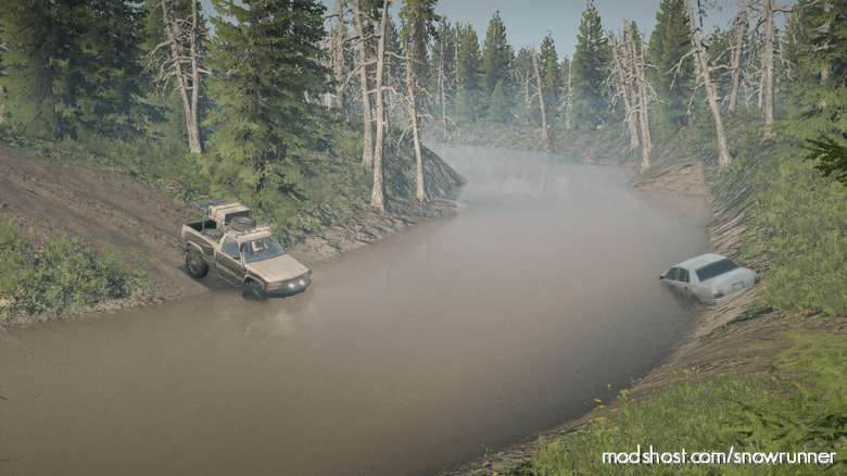 4WD Map for SnowRunner