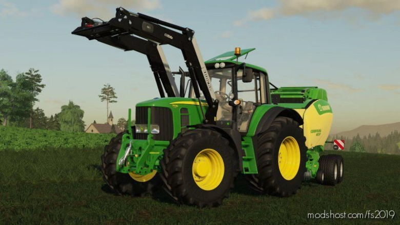 John Deere 7430/7530 Edit for Farming Simulator 19