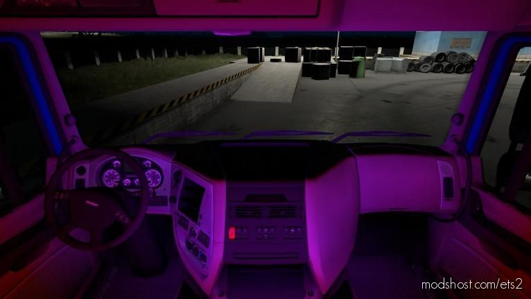 Interior Lights V1.1 By Topgear 2020 [1.38.X] for Euro Truck Simulator 2