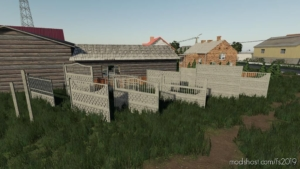 Concrete Fences Pack for Farming Simulator 19