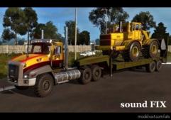 Sound FIX For Caterpillar CT660 for American Truck Simulator