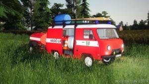 UAZ Hasici Lipno for Farming Simulator 19