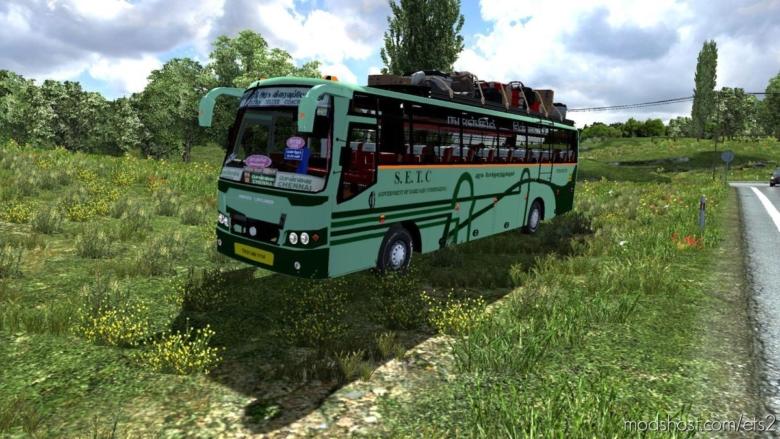 Indian Ashok Leyland Setc Ultra Deluxe [1.38] for Euro Truck Simulator 2