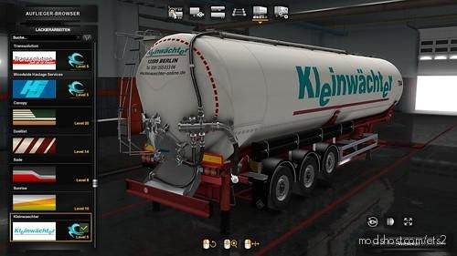 Owned Feldbinder KIP Trailer Pack V1.3 for Euro Truck Simulator 2