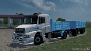 MB LS 1634 Tandem + Trailer [1.38] for Euro Truck Simulator 2